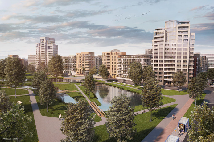 Holland Park in Diemen Wijnne Projectbegeleiding